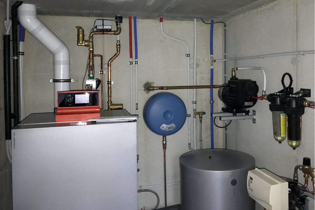 voorbeeld centrale verwarming